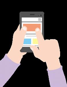 smartphone, app, news